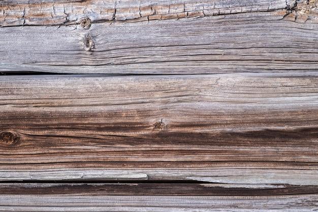 Achtergrond van de oude houten ongeverfde planken