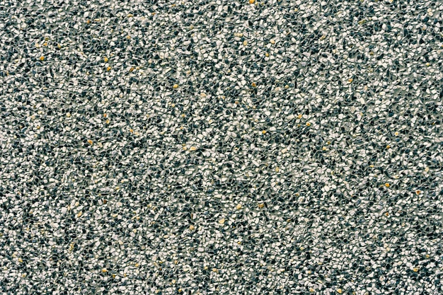 Achtergrond van decoratie zwart en wit terrazzovloer