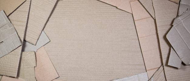Achtergrond van document texturen opgestapeld klaar te recycleren.