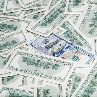Achtergrond van dollars.