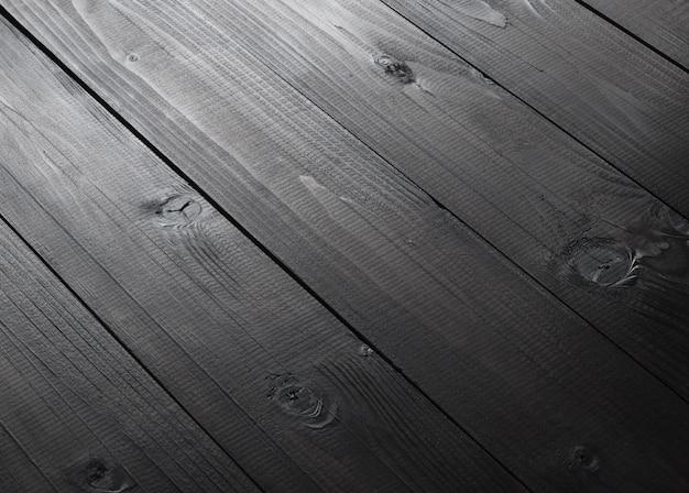 Achtergrond van donkere houten planken