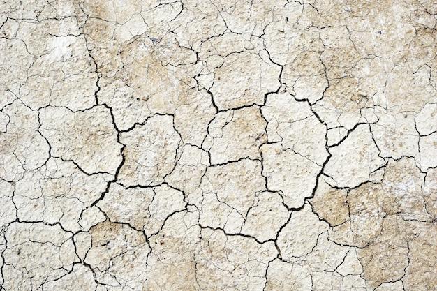 Achtergrond van droge grondtextuur