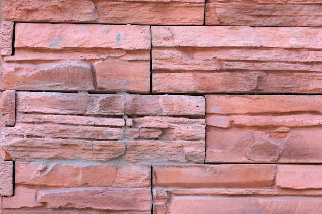 Achtergrond van een bakstenen muur