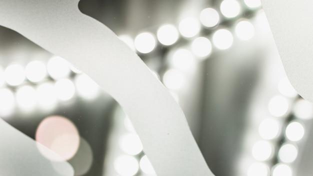 Achtergrond van een verlicht bokeh licht