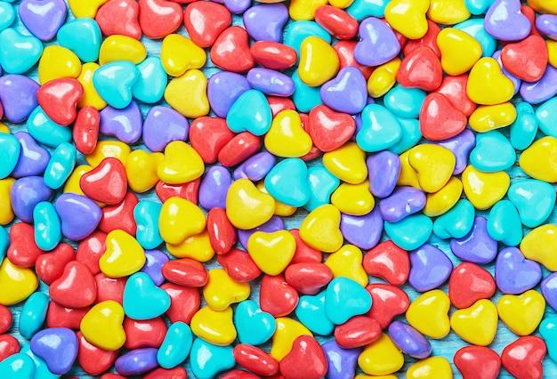 Achtergrond van gekleurde snoep