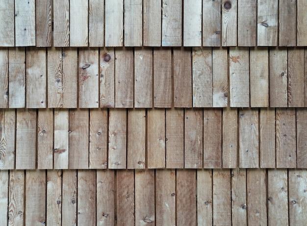 Achtergrond van geordende houten planken