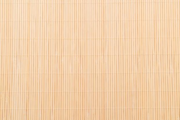 Achtergrond van het bamboe oppervlak van de mat