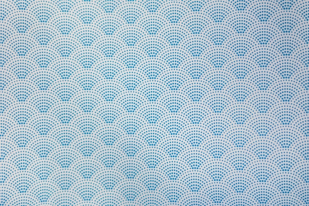 Achtergrond van het blauwe japanse gestippelde naadloze patroon van de stijlgolf