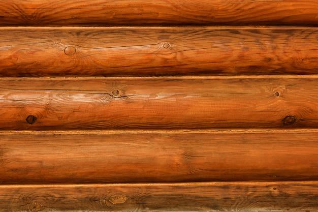 Achtergrond van horizontale houten logboeken