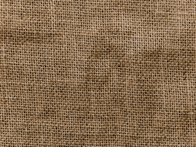Achtergrond van jute materiële textuur