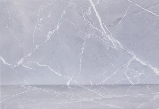 Achtergrond van keramische tegels met een patroon van grijs marmer