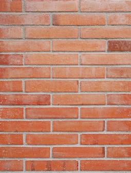 Achtergrond van nieuwe bakstenen muur