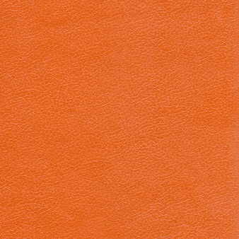 Achtergrond van oranje leder texture.