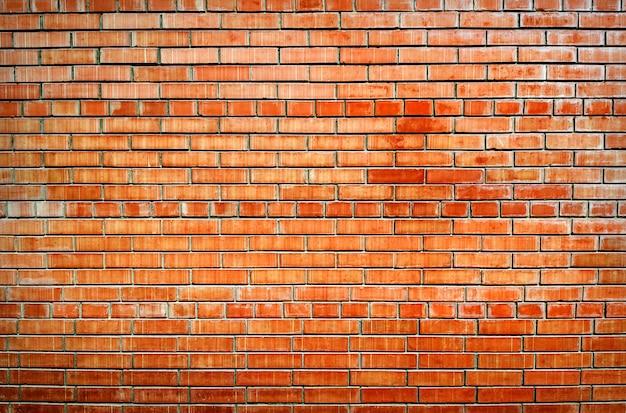Achtergrond van oude bakstenen muur