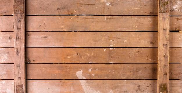 Achtergrond van oude houten kist