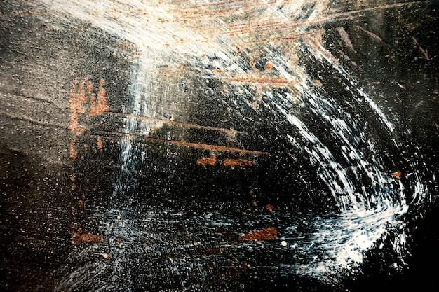Achtergrond van oude staalmuur