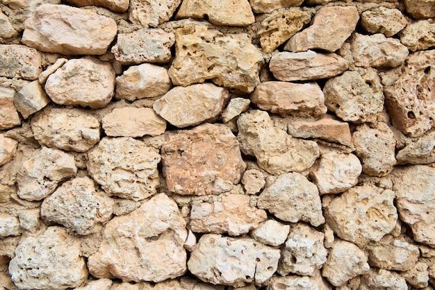 Achtergrond van oude stenen muur textuur foto.