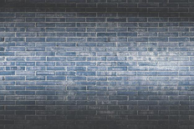 Achtergrond van oude uitstekende bakstenen muur