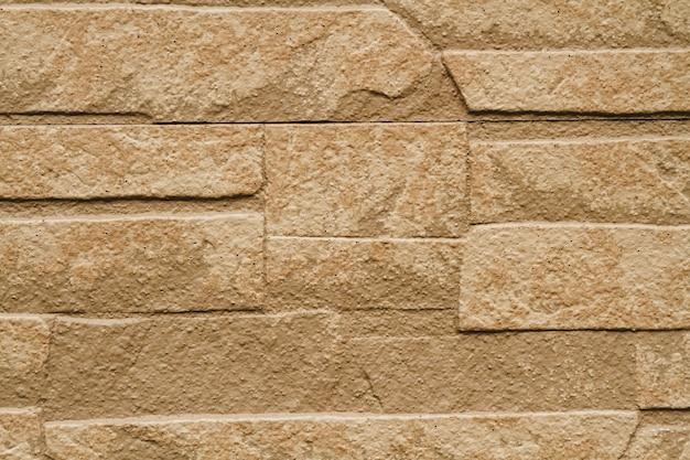 Achtergrond van oude vintage vuile bakstenen muur met peeling gips.