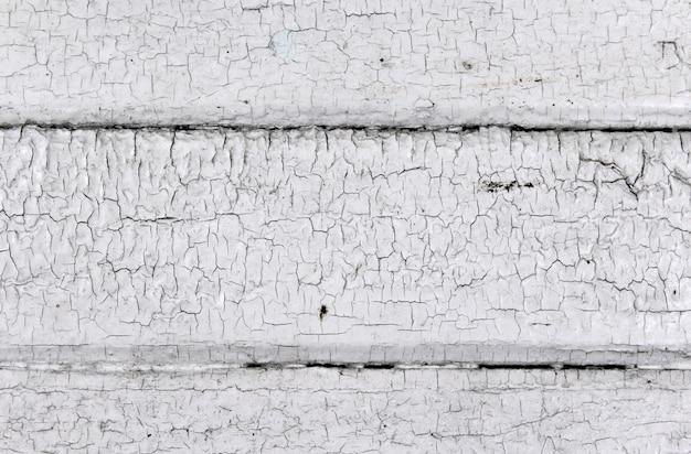 Achtergrond van oude witte planken