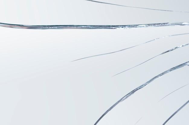 Achtergrond van realistisch gebarsten glaseffect