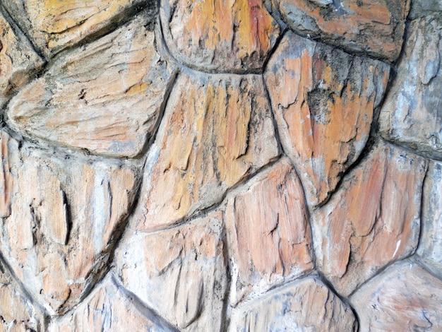 Achtergrond van stenen muur