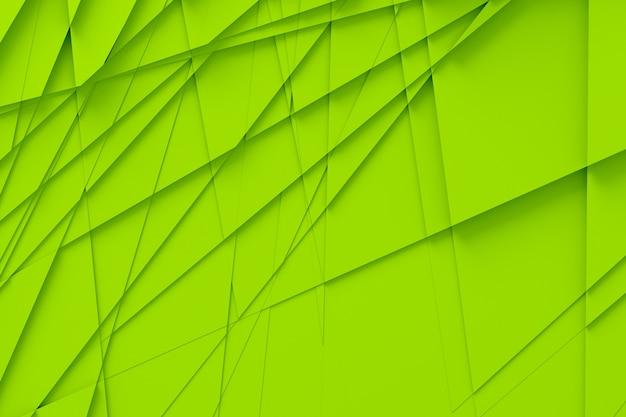 Achtergrond van veel gebarsten driedimensionale vormen op verschillende hoogtes van elkaar en werpen een schaduw