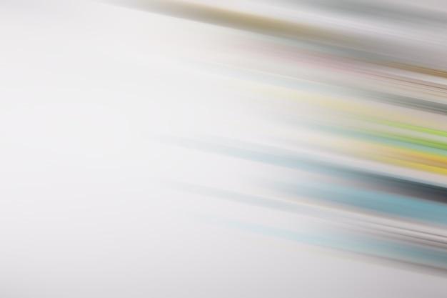 Achtergrond van veelkleurige lijnen en wit