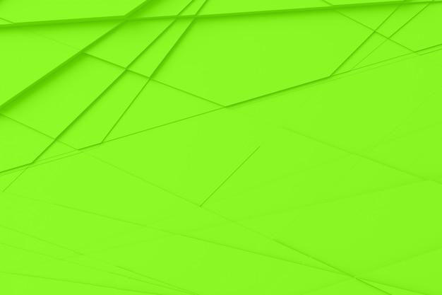 Achtergrond van vele gebarsten driedimensionale vormen op verschillende hoogtes van elkaar en wierp een schaduw 3d illustratie