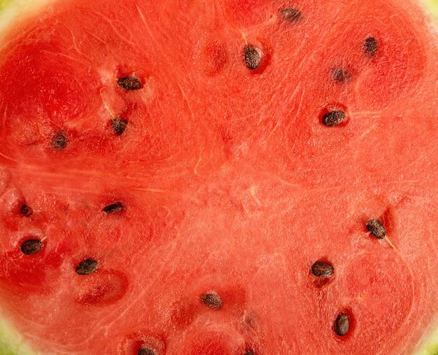 Achtergrond van verse rijpe watermeloen