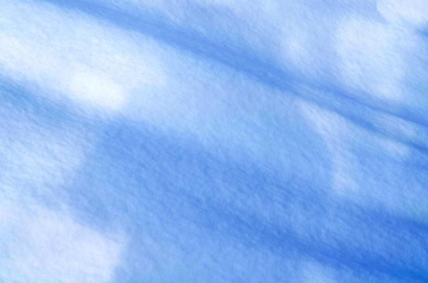 Achtergrond van verse sneeuw