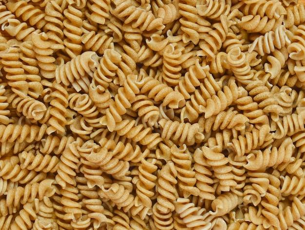 Achtergrond van volkoren pasta