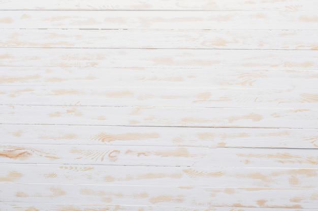 Achtergrond van witte houten planken