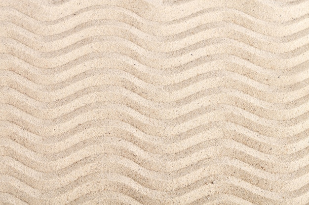Achtergrond van zee zand. zomerrust.