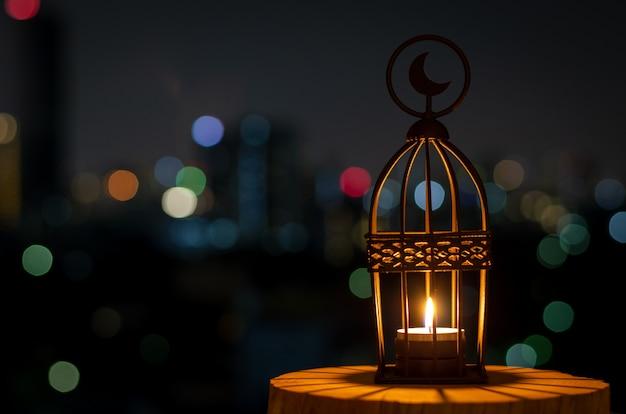 Achtergrond voor het moslimfeest van de heilige maand ramadan kareem.