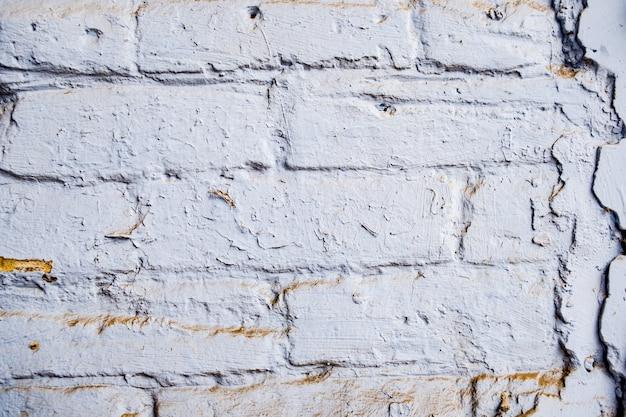 Achtergrond voor ontwerpers antieke bakstenen textuur. bakstenen muur textuur bij daglicht. veel stenen.