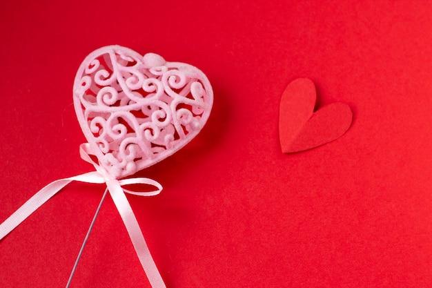 Achtergrond voor valentijnsdag en acht maart