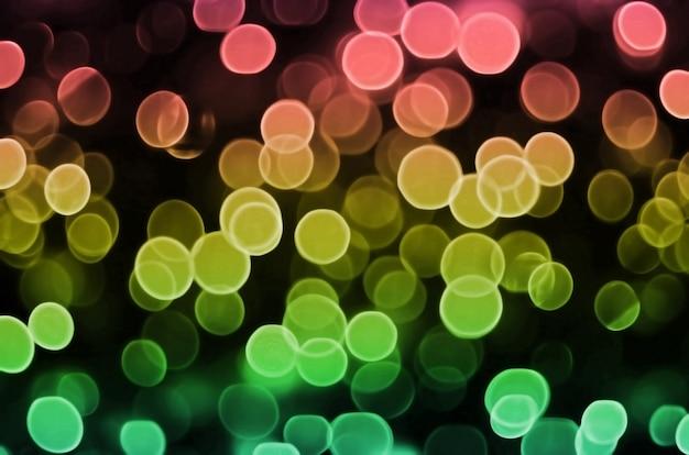Achtergrondafbeelding met artistieke bokeh effect