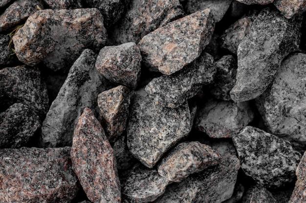 Achtergrondafbeelding van de grote grijze marmeren rotsen