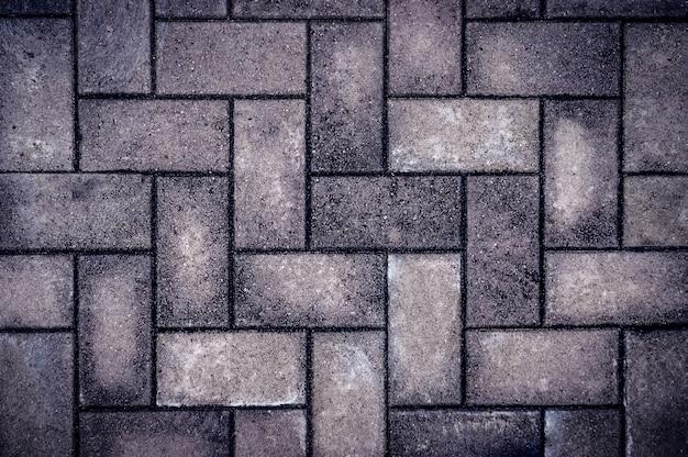 Achtergrondbestrating, straatsteen, baksteen, kei, weg, voetpad.