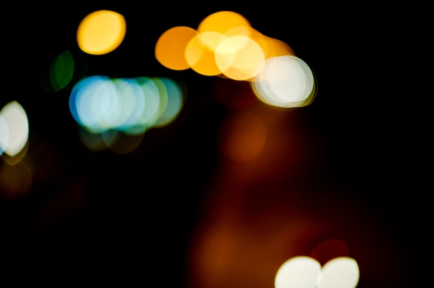 Achtergronden, bokeh, wallpapers, straatverlichting, auto's die heen en weer rennen.