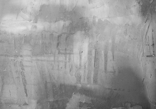 Achtergrondencollectie - textuur van de grijze gepleisterde muur
