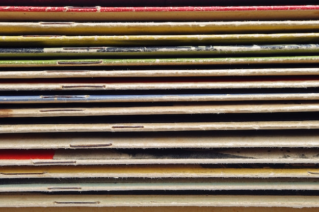 Achtergrondomslagen van oude tijdschriften