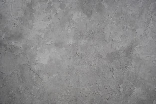 Achtergrondtextuur van grijze gipspleister