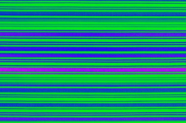 Achtergrondtextuur van stof in een gekleurde lengtestrook