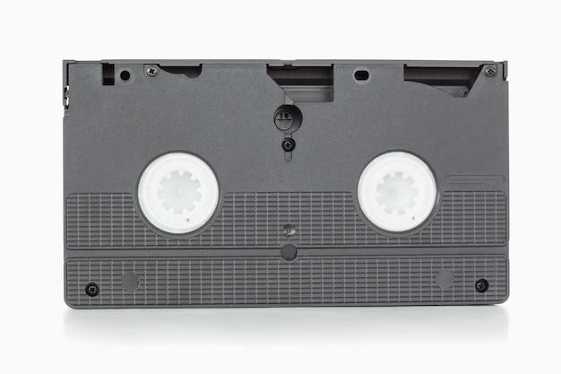 Achterkant van een videoband