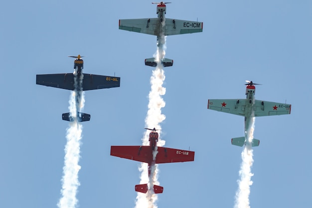 Acrobatische patrouille