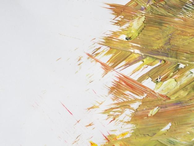 Acrylstreken met kopie ruimte