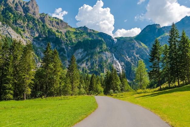 Adelboden zwitserse landschap