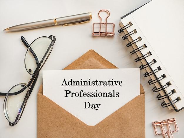 Admin day wenskaart